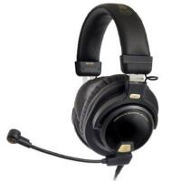 铁三角(Audio-technica)PG1 ATH-PG1 头戴式专业游戏电脑线控通话耳机耳麦 黑色