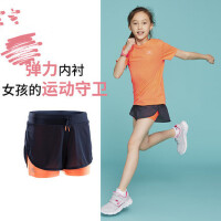 户外女童短裤薄款运动短裤速干透气儿童跑步裤防走光