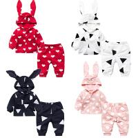 女婴儿童套装衣服0岁6个月休闲春款秋冬季新生儿宝宝外出服