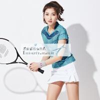 20180407215243368夏季羽毛球服套装女款 速干套裙男款 训练比赛运动服 球衣网球服