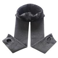 儿童连裤袜踩脚宝宝女童打底裤秋冬季黑色一体绒
