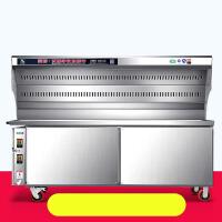 商用无烟烧烤车环保大型无烟烧烤车环保无油烟净化烧烤炉净化器 1.2米 款