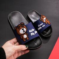 儿童拖鞋夏男童宝宝女童可爱浴室防滑软底居家鞋亲子中大童