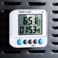厨房定时器学生时间管理器学习做题闹钟电子可静音倒计时器无声