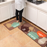 家纺薄款厨房地垫脚垫门垫卧室长条吸水防油垫子门口门厅防滑垫