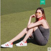 莱卡金顿新款韩版女性平底鞋日常百搭圆头平底内增高休闲鞋板鞋春夏季LHLKQ1631