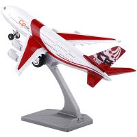 合金飞机A380客机空中客车大型客机 声光回力模型儿童模型玩具SN4124