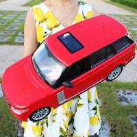 方向盘儿童遥控车玩具超大号漂移充电动越野路虎汽车男孩赛车模型