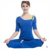 户外 新款瑜伽服套装女广场舞服装健身服女春夏显瘦愈加服