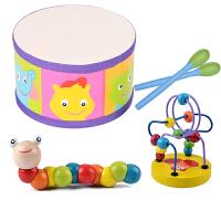 婴儿玩具0-1岁 新生儿拨浪鼓3-6-12个月宝宝男孩女孩益智玩具摇铃