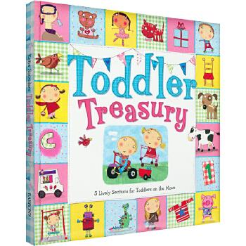 凯迪克美国进口 小生活大世界 Toddler Treasury 翻翻书:不同场景的多种有趣互动精装3-6岁亲子互动元素