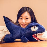 毛绒玩具布娃娃午睡枕手捂生日礼物女孩韩国恐龙暖手抱枕公仔
