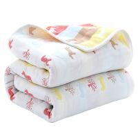 儿童纯棉毛巾被幼儿园大毛巾毯宝宝吸水婴儿纱布浴巾盖毯夏凉被子