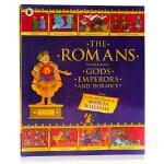 罗马The Romans 英文原版 全彩漫画绘本 趣味历史故事启蒙认知 人文熏陶图画书 Marcia Williams