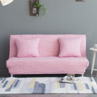 沙发垫单人布艺沙发巾通用双人折叠1.2米沙发罩无扶手沙发床套罩