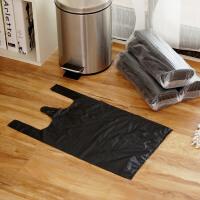 【满减】欧润哲 12L垃圾桶清洁塑料袋 大号垃圾袋黑色背心式收纳袋子套装