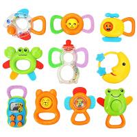 优乐恩 宝宝手摇铃牙胶动物礼盒套装婴幼儿安抚益智玩具0-1岁