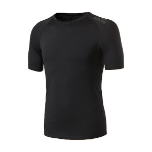 adidas阿迪达斯男子短袖T恤2018新款训练跑步健身运动服CF7235