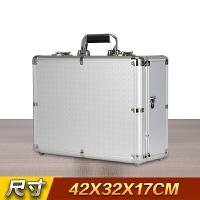 铝合金箱子储物箱手工具箱带锁展示箱仪器仪表设备箱投影仪收纳箱 填满格子棉