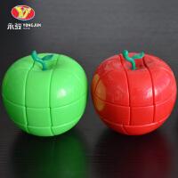 顺滑盲拧初学学生练脑 苹果异形魔方二三四五阶魔方玩具