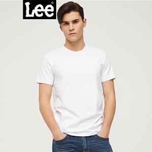 Lee商场同款18春夏新品休闲时尚男式短袖T恤L30269K99K14