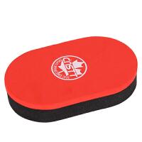 乒乓球拍海绵擦胶皮清洁棉双层洗胶绵(清洗剂套装)