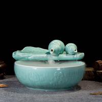 陶瓷�~缸流水�[件客�d家�b工�品福�p全加�耢F化器��水盆