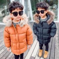 儿童幼儿男宝宝冬装外套男童棉衣冬款韩版女童男宝女宝棉袄潮
