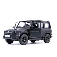 奔驰G63车模小汽车迷你车载摆件汽车模型仿真合金玩具车 G63 AMG黑色盒装