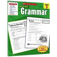 美国小学三年级英语语法练习册 英文原版 Scholastic Success with Grammar 3 英文版学乐