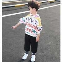 童装男童套装儿童男孩春秋运动两件套