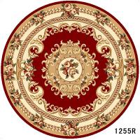 欧式客厅圆形地毯 沙发茶几餐厅圆餐桌地垫书房家用卧室床边地毯