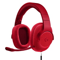 罗技 G433 DTS 7.1 有线环绕声游戏头戴式耳机麦克风线控 支持PC 兼容手机等3.5MM接口设备