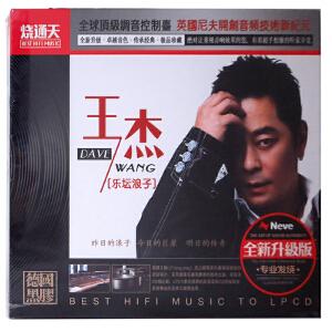 新华书店正版  华语流行音乐  王杰 乐坛浪子CD