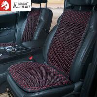夏季木珠汽车坐垫单片通风透气车座椅垫子套装通用汽车座垫座套
