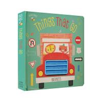 【首页抢券300-100】英国原版进口Busy Bees启蒙系列 Things That Go认识交通工具 低幼早教英文