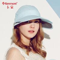 夏天女士帽子 骑车遮阳帽 空顶帽韩 遮脸防晒帽 女 大帽檐户外帽太阳帽3004