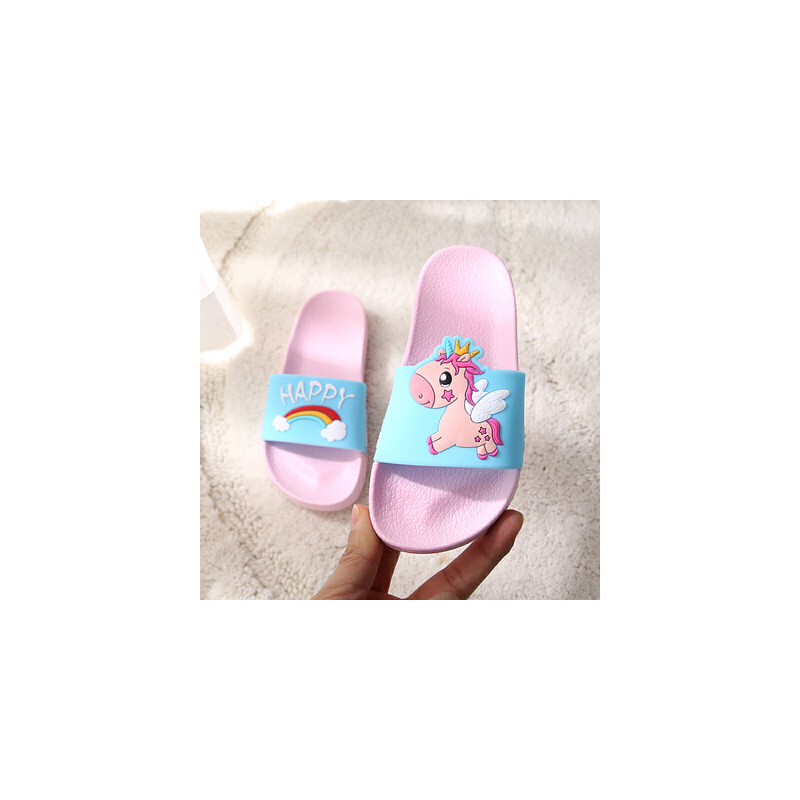 儿童拖鞋女童夏可爱小孩宝宝家用浴室防滑居家亲子女士小童凉拖鞋