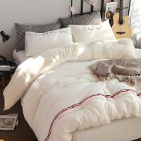 家纺羊羔绒被子冬被加厚保暖冬季水洗棉被芯2米双人床褥羽丝棉太空被 200*230cm 7.6斤