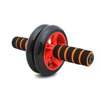 运动配饰健腹轮腹肌轮收腹健身器材家用滚轮俯卧撑轮健腹轮 橙色手柄 红色圈