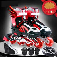 【支持礼品卡】直排轮滑溜冰鞋儿童全套装3-5-6-8-10岁旱冰男女初学者 x3i