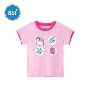 361度 女童短袖针织衫 2018年夏季新款N61824204