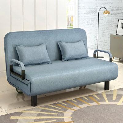 【一件3折】沙发床可折叠多功能客厅书房两用单人双人简易现代小户型 支持* 破损免费补发