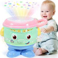 可充电玩具6-8-12九个月宝宝0-1岁手拍鼓儿童音乐拍拍鼓