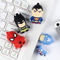 卡通U盘8G 美国队长/超人/绿灯侠/蝙蝠侠/蜘蛛侠 正品足量 送朋友礼物 可爱U盘