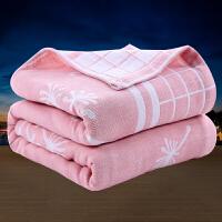 纯棉毛巾被单双人加大纱布夏凉被盖毯空调毯午睡毯夏季学生宿舍被子