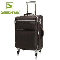赛德纳sedna防水尼龙布20/24/28寸万向轮密码锁大容量拉杆登机箱旅行李箱男女
