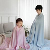 儿童毛巾被婴儿小毯子新生儿空调被竹纤维盖毯宝宝冰丝毯夏凉薄被