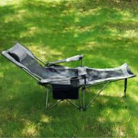 户外折叠椅子多功能躺椅便携式休闲午休沙滩钓鱼桌椅自驾游陪护床