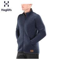 Haglofs火柴棍户外男款含羊毛舒适保暖抓绒夹克 603642 欧版